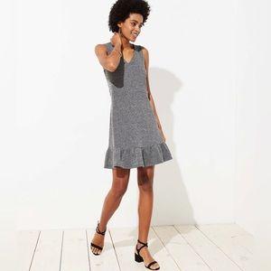 NWOT Ann Taylor LOFT Tweed Flounce Dress